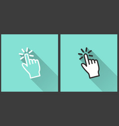 hand - icon vector image