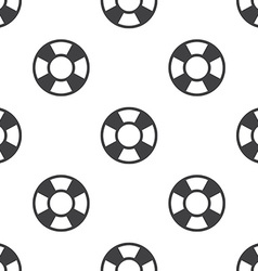 lifebuoy seamless pattern vector image