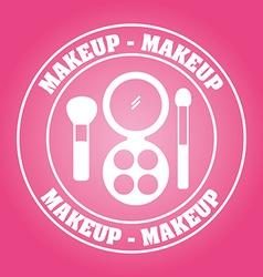 makeup kit vector image
