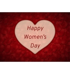 Happy Women day vector image