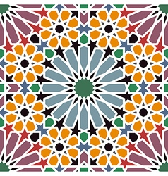 Arab tile vector image