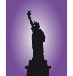 Liberty vector image vector image