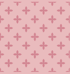 abstract seamless pattern mosaic of pink vector image vector image