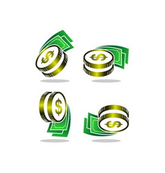 money logo vector image
