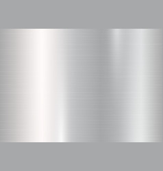 Background with silver metallic gradient vector