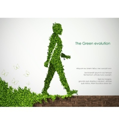 Evolution of the concept of greening vector