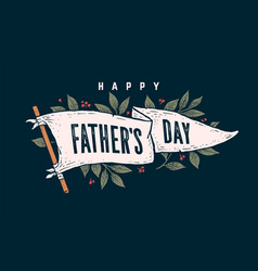 father day flag graphic vector image
