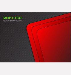 Red template abstract background with copy space vector
