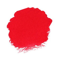 Red watercolor spot vector image