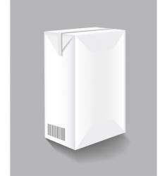 drink carton vector image vector image