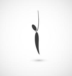 hang oneself icon vector image vector image