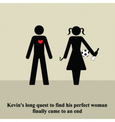 the perfect woman vector image vector image