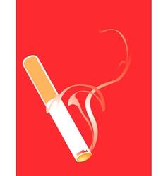 Cigarette Smoking vector image