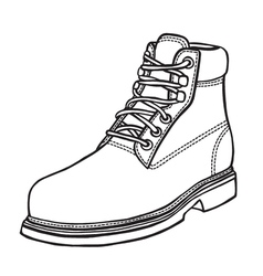 hand-drawn in sketch style vector image