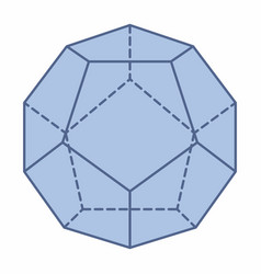 Isolated dodecahedron vector