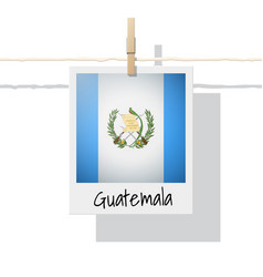 Photo of guatemala flag vector