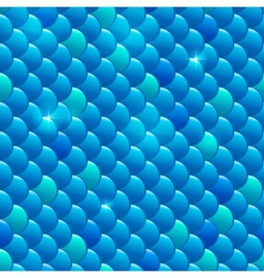 Seamless river fish scales vector