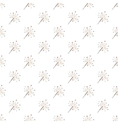Sparkler pattern seamless vector