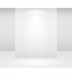 Wall and lights vector