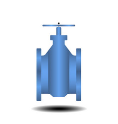 water shutoff valves vector image