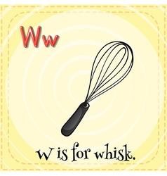 Whisk vector