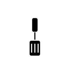 spatula icon black sign on vector image