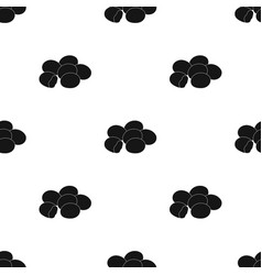 chocolate dragee icon in black style isolated on vector image