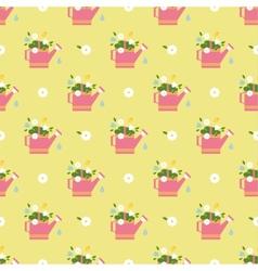 flat flower vintages eamless patterns vector image