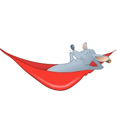 mouse hammock vector image