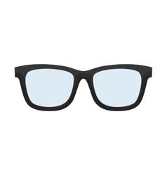 glasses accessory father day icon vector image