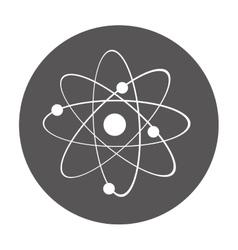 atom laboratory isolated icon vector image