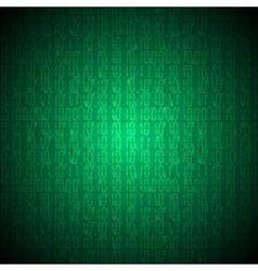 Binary computer code vector image