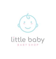 happy baby toddler babies line outline line art vector image