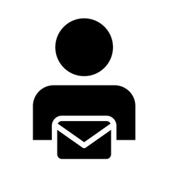 Information icon male user person profile avatar vector
