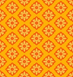 laithai flower texture yellow pattern vector image