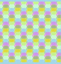 Seamless geometric pastel pattern vector