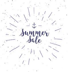 super sale - handwritten lettering calligraphic vector image vector image