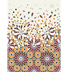 Arab pattern vector image