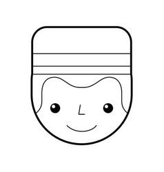 Boybell avatar character icon vector