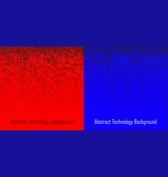 geometric background set triangle pattern vector image