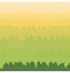Green grass valley abstract natural environmental vector
