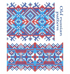old Russian pattern vector image