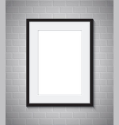 picture frame border vector image