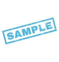 Sample rubber stamp vector