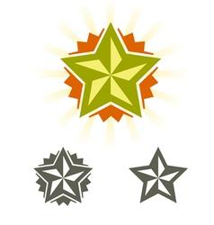 Stars new vector image