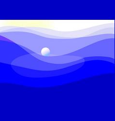 Template sea vector