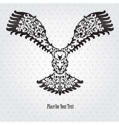 Decorative eagle vector