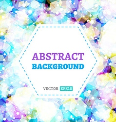 Abstract background with light effects vector image