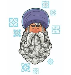 Turban vector image vector image