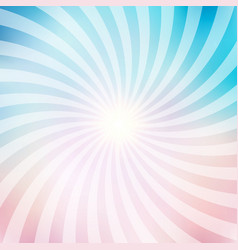 abstract circus retro graphic radius effects blue vector image